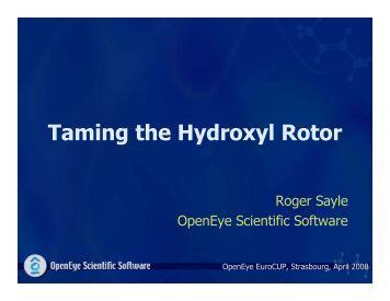 pdf 412 K - OpenEye Scientific Software