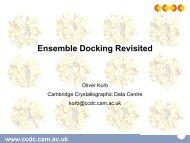 Ensemble Docking Revisited