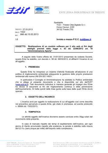 Lettera di incarico per segnalatore pcr assicurazioni for Lettera di incarico prestazione servizi