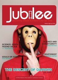 Jubilee - Spring 2010 - Ezra Institute for Contemporary Christianity