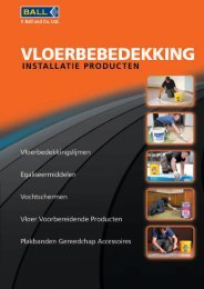 Flooring Installation Product Guide Complete guide to all F. Ball ...