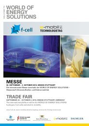MESSE TRAdE FAIR - F-Cell
