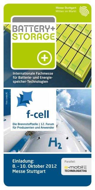 Internationale Fachmesse für Batterie- und Energie - e-mobil BW