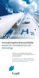 f-cell award 2012 (PDF)