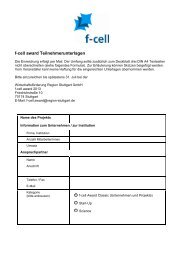 f-cell award Teilnehmerunterlagen