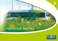 hybrid fuel cell bus - F-Cell