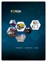 there's a new name in the oilpatch - Forum Energy Technologies