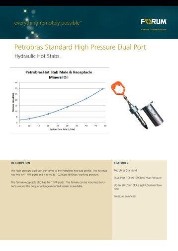 Petrobras Standard High Pressure Dual Port - F-e-t.com