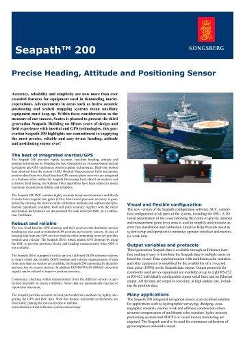 Seapath 200 - F-e-t.com