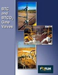 btc gate valves are