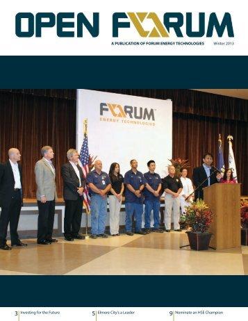 Open Forum Winter 2013 - F-e-t.com