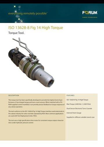 ISO 13628-8 Fig 14 High Torque - F-e-t.com