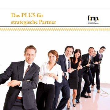 Das PLUS für strategische Partner - Fachverband Medienproduktioner