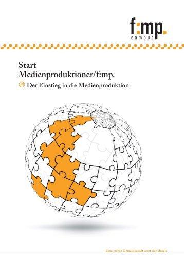 Start Medienproduktioner/f:mp. - Fachverband Medienproduktioner