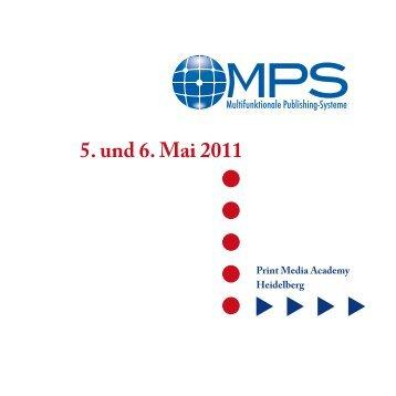 5. und 6. Mai 2011 - Fachverband Medienproduktioner