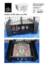Emitter II HD Akku von 1998 - ASR Audio Systeme Friedrich Schäfer