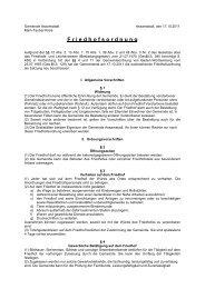F riedhofsordnung - Assamstadt