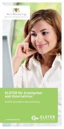 ELSTER für Arbeitgeber und Unternehmer. - Finanzamt