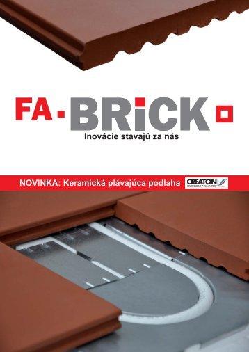 Keramická plávajúca podlaha - FA-BRICK, sro