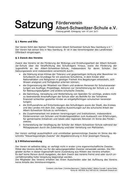 Förderverein Albert-Schweitzer-Schule e.v.