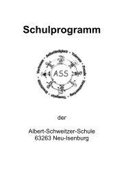 Schulprogramm - Albert-Schweitzer-Schule