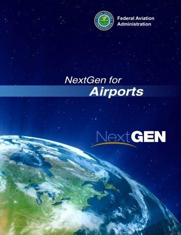 FAA NextGen for Airports