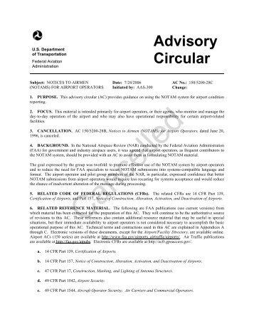 FAA Form 7480-1 - Notice of Landing Area Proposal