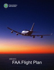 2009-2013 FAA Flight Plan