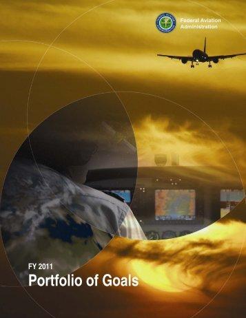 FY-11 Portfolio of Goals - FAA