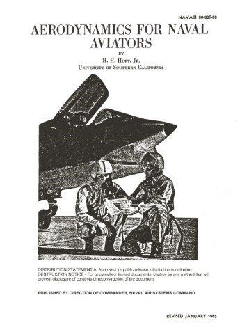 AERODYNAMICS FOR NAVAL AVIATORS - FAA