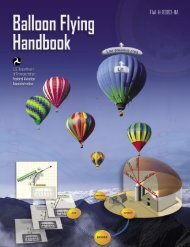 Balloon Flying Handbook.indb - FAA