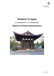 Studietur til Japan - Faaborg-Midtfyn kommune