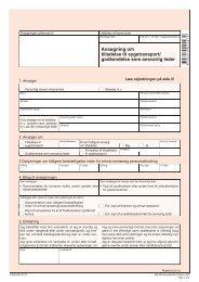 TK 003 - Ansøgning om tilladelse til sygetransport/godkendelse som ...