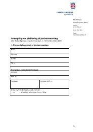 Ansøgning om etablering af jordvarmeanlæg - Faaborg-Midtfyn ...