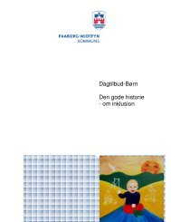 Den gode historie om inklusion - Faaborg-Midtfyn kommune
