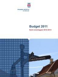 Budget 2011 (pdf-fil åbner i nyt vindue) - Faaborg-Midtfyn kommune