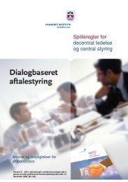 Spilleregler for decentral ledelse og central styring - Faaborg ...
