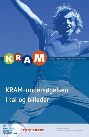 Rapporten KRAM-undersøgelsen i tal og billeder - Sundhedsstyrelsen