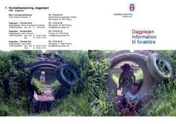 7. Kontaktoplysning, dagplejen - Faaborg-Midtfyn kommune