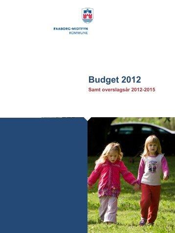 Forside til budget 2012 - Faaborg-Midtfyn kommune