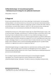 Velfærdsteknologi i et innovationsperspektiv - Faaborg-Midtfyn ...