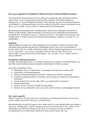 Job- og personprofil for Projektleder til Klimasekretariat i Faaborg ...