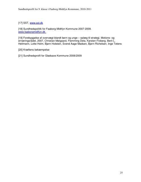 Rapport, 2010-2011 - Faaborg-Midtfyn kommune