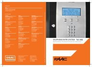 TELEPHONE ENTRY SYSTEM TAS 3000 - FAAC USA