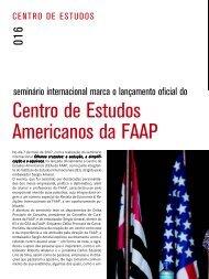 Centro de Estudos Americanos da FAAP