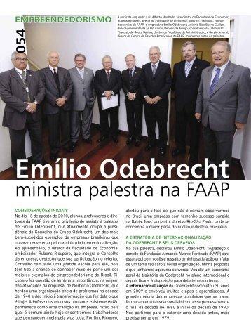 (QUAL – Ed. 228 / pág. 54 – 60) Evento - Faap