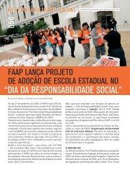 """""""DIA DA RESPONSABILIDADE SOCIAL"""" - Faap"""