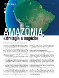 Amazônia, estratégia e negócios - Faap