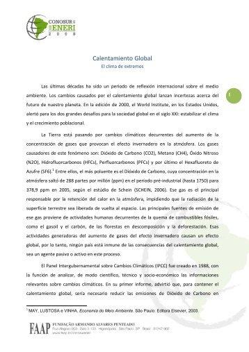 Informe II CETAG - Faap