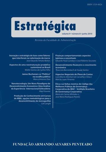 Revista Estratégica vol.9 - Faap